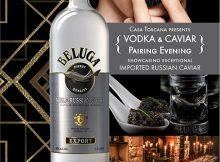 Beluga Russian Vodka & Caviar Pairing Evening 2017 - Casa Toscana