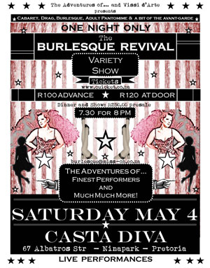 Burlesque and Variety Show - 04 May 2013 - Ninapark