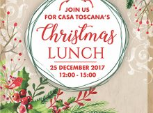 Christmas Lunch 2017 @ LeSi Restaurant - Casa Toscana