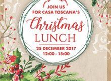 Christmas Lunch 2017 @ LeSi Restaurant - Casa Toscana