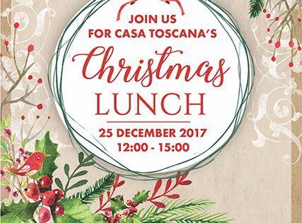 Christmas Lunch 2017 @ Rubica Venue - Casa Toscana