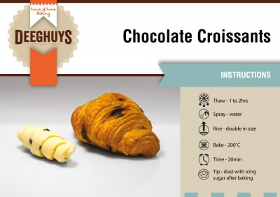 Deeghuys - Chocolate-Croissant