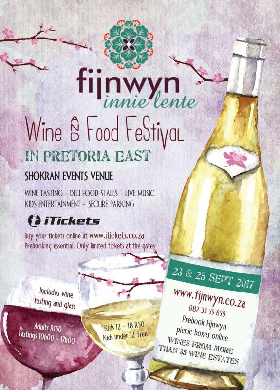 Fijnwyn Innie Lente Food & Wine Festival 2017 - Shokran Events Venue