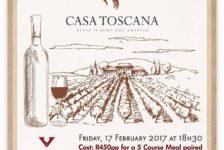 Fine Italian Wine & Food Evening - Casa Toscana