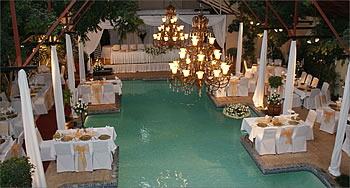 Wedding venue muldersdrift garden world for Unique wedding venues north east
