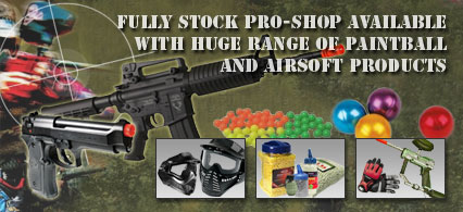 Gotcha Paintball Range - Pro-Shop