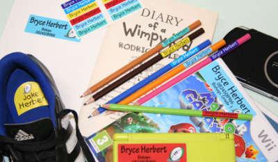 Kids Labels School Labels - Starter Pack - Cape Town