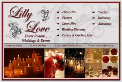 Lily Love Decor Rentals and Events - Moreleta Park
