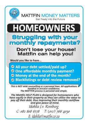 Mattfin - Home Owner Debt Consolidation - Centurion