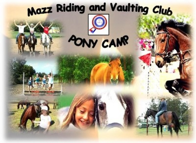 Mazz Riding and Vaulting Club - Pony Camp 2013