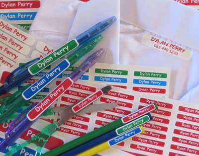 Stuck to U School Labels and Tags - Back to School Pack