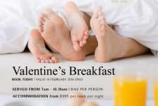 Valentines Breakfast Buffet - Chapters Restaurant - Centurion