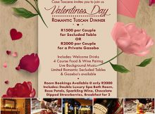 Valentines Dinner 2018 @ LeSi Restaurant - Casa Toscana