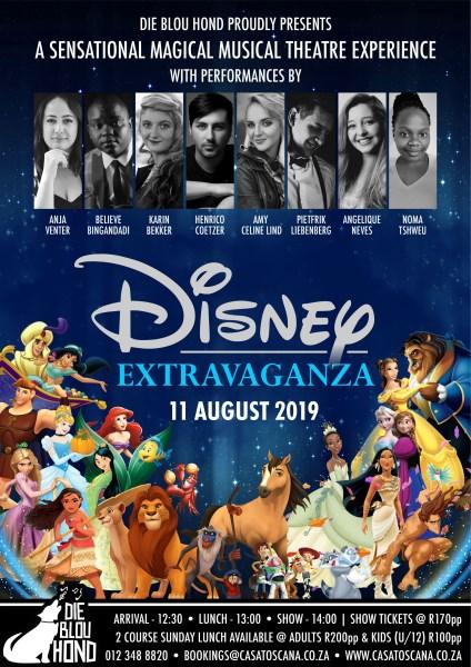 Blou Hond Disney Extravaganza