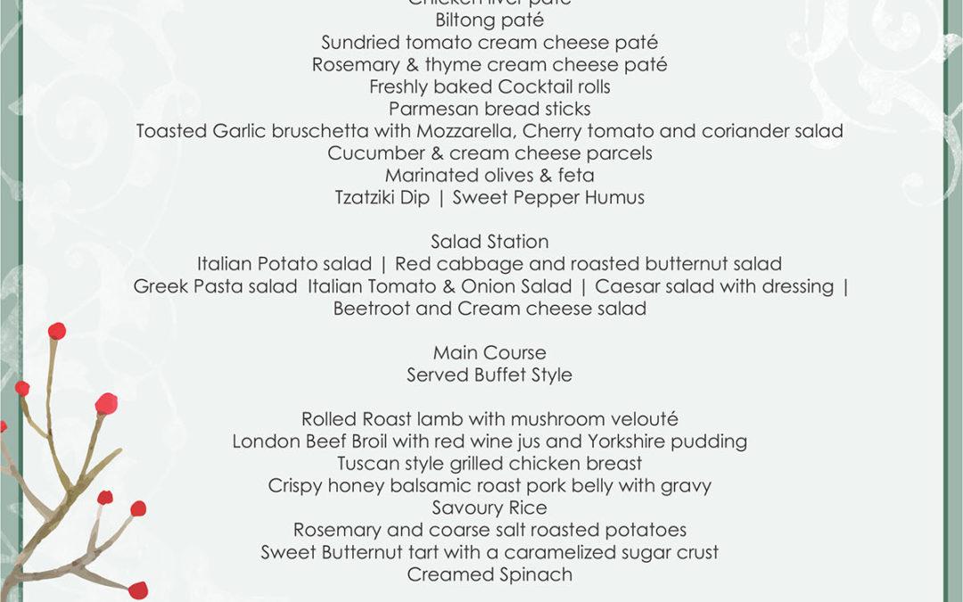 Christmas Lunch LeSi Restaurant 2020