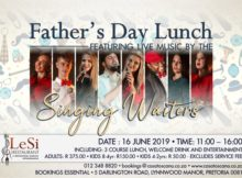 Fathersday 2019 Lunch with Live Music - Casa Toscana Pretoria