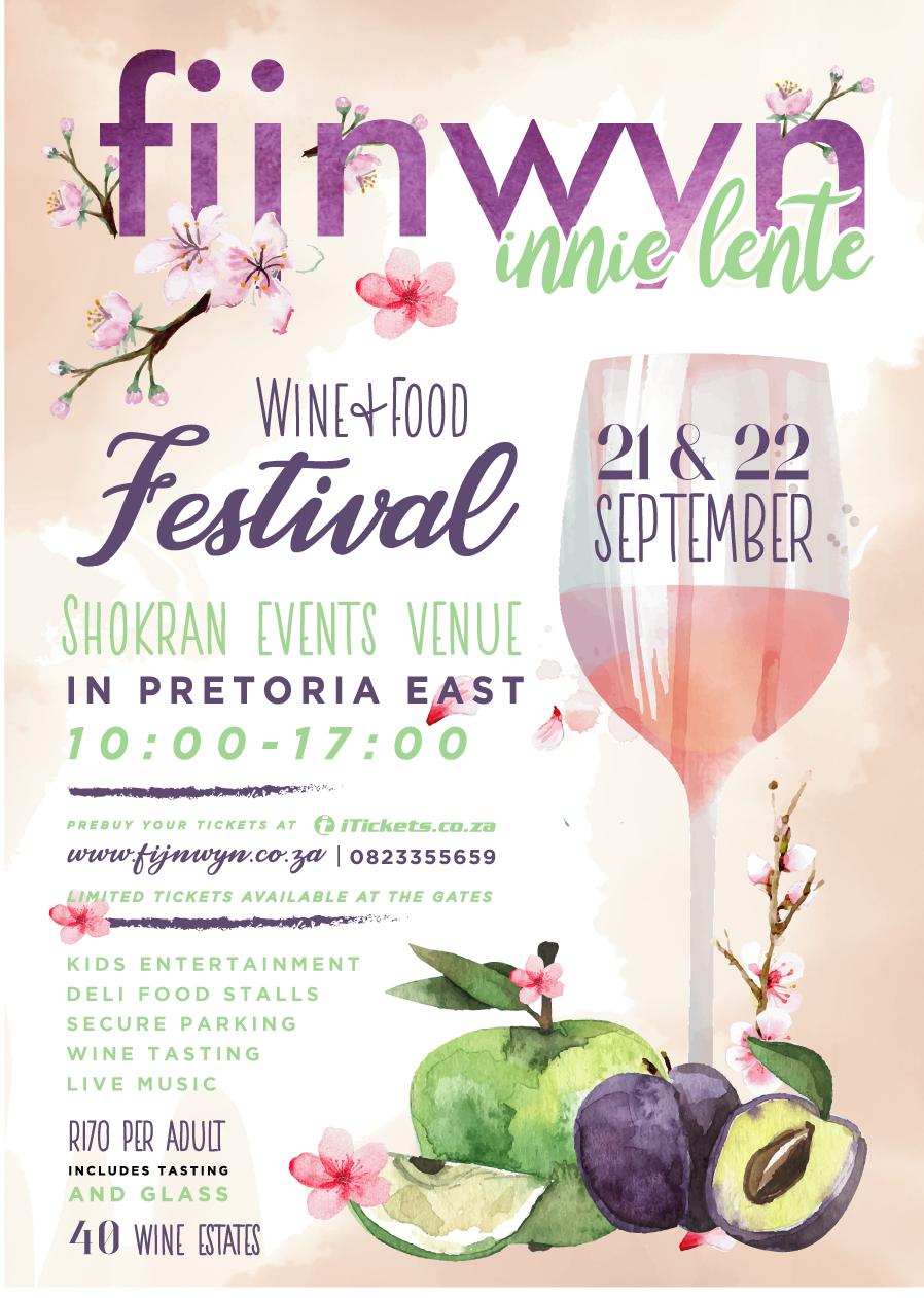 Fijnwyn Innie Lente Wine Festival