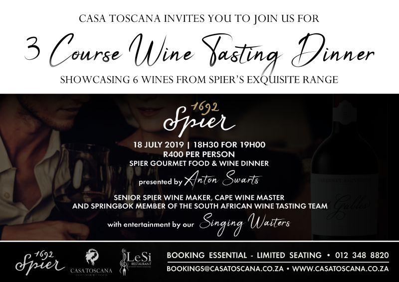 Casa Toscana July Specials