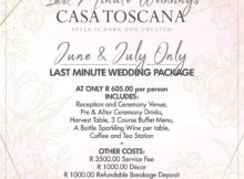 Last-Minute-Wedding-Promotion-Casa-Toscana-Pretoria