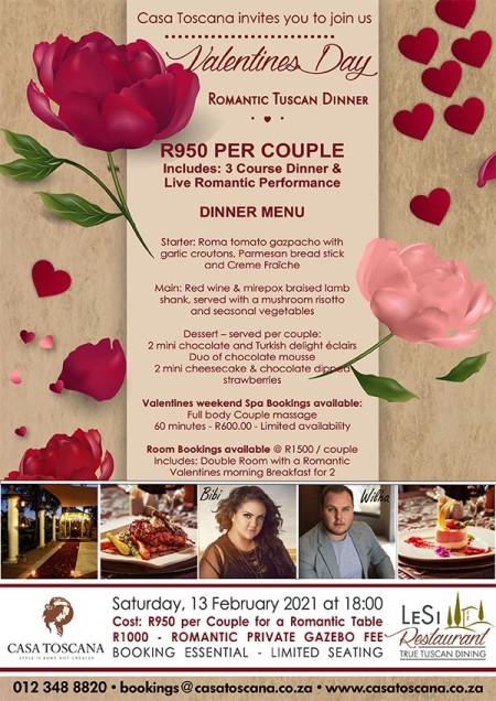Valentines Day 2021 Dinner