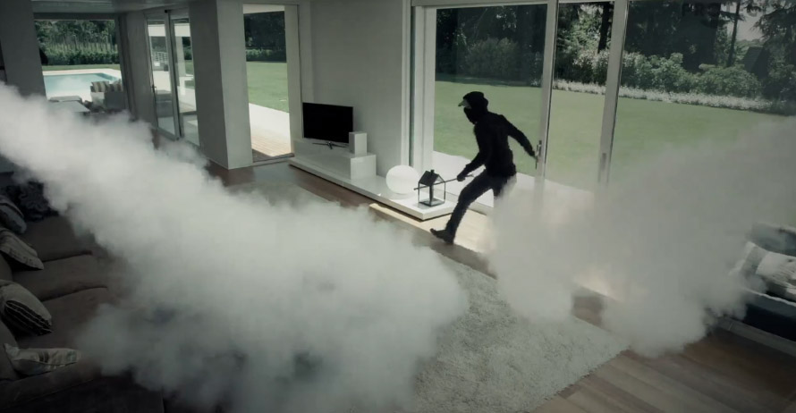 Fog Cannon Security System